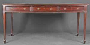 Regency partners Desk, mahogni