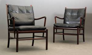 "Ole Wanscher: Et par ""Colonial chairs"" model p 149"