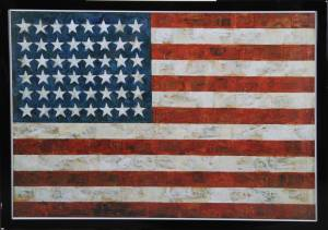 "Jasper Johns: Plakat ""Stars & Stripes"""
