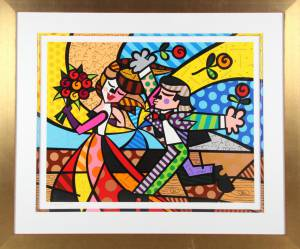"Romero Britto (f. 1963): ""Follow Me"""