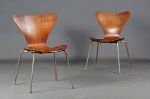 Arne Jacobsen (1902-1971) for Fritz Hansen, to stole model 3107