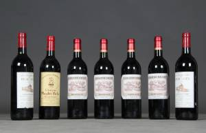 7 flasker Bordeaux