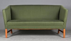 Ole Wanscher (1903 - 1985) for A.J. Iversen: To-personers sofa