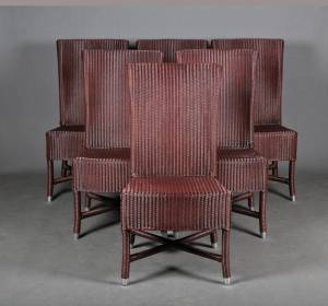 Vincent Sheppard, Lloyd Loom Collection: Seks spisestuestole