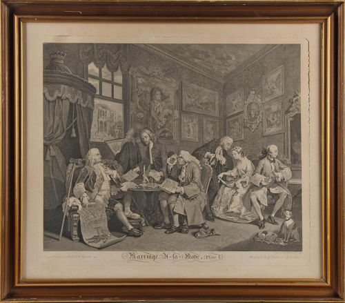 William Hogarth: Stik (6)