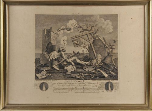 "William Hogarth: ""Tail Price"""
