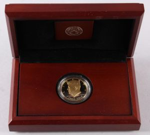 U.S.A. - 50th Anniversary Kennedy Half-Dollar Gold Proof Coin 2014 ►