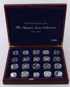 Hele Verden – The Olympic Coin Collection 1952-2002 ►