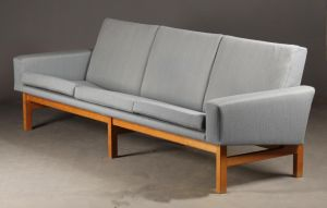 Hans J. Wegner (1914 - 2007) for AP. Stolen: Tre pers sofa model AP 34/3