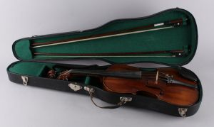 Fransk Violin (Mirecourt) med to buer
