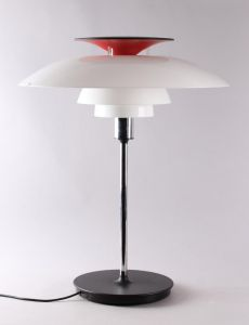 Poul Henningsen: PH 80 bordlampe