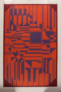 Victor Vasarely (1906-1997): Komposition