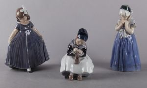 Royal Copenhagen: Figurer (3)