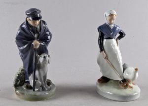 Royal Copenhagen: Figurer (2)
