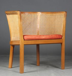 Bernt Petersen. Lounge chair af mahogni model 304