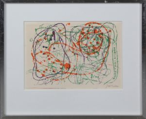 Asger Jorn (1914-1973) Komposition