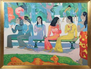 "Paul Gauguin: ""Ta Matete""."