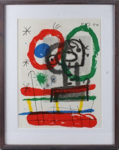Joan Miro (1893-1983): Kompositioner (2)