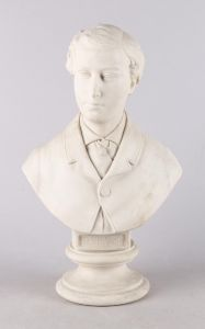 John Rose & Co.: HRH The Prince of Wales, figur af biscuit