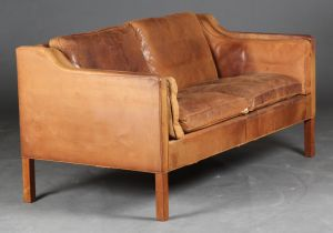 Børge Mogensen (1914-1972): To-pers. sofa, model 2212