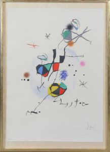 Joan Miro (1929-1983): Komposition