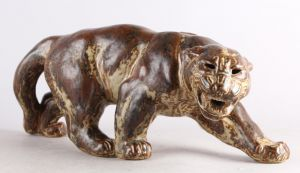 Knud Kyhn (1880-1969) for Royal Copenhagen: Panter nr. 20283