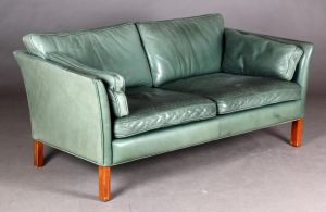 Arne Norell: To-pers. sofa og tre-pers. sofa, model Cromwell (2)