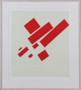 Plakat: Kasimir Malevich Eight Red Rectangles
