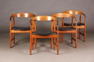 Hans J. Wegner (1914-2007): Fire stole, model PP 208 (4)