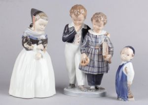 Royal Copenhagen: Diverse figurer (3)