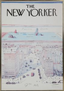 Steinberg/The New Yorker: Forside 1976