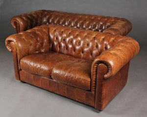 Tre-pers. og to-pers. Chesterfield sofaer (2)