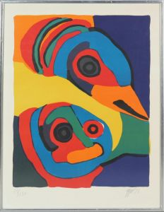Karel Appel (1921-2006): Komposition