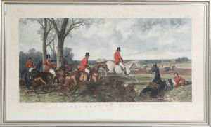 Fores's National Sports Fox Hunting Plate 3