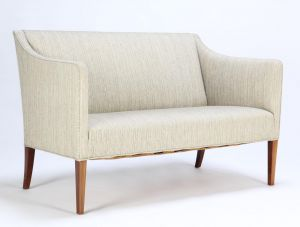 Ole Wanscher (1903-1985) for A.J. Iversen: To-pers. sofa