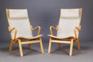 Pæn højrygget lænestol af Finn Jørgensen. ALBERT
