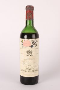 Chateau Mouton Rothschild 1969