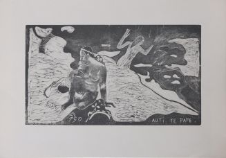 "Paul Gauguin: ""Auti Te Pape""."
