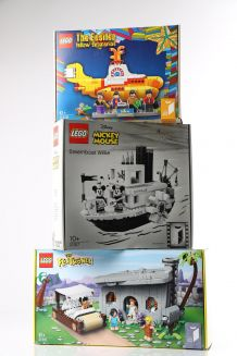 LEGO: The Flintstones, The Beatles og Mickey Mouse (3)